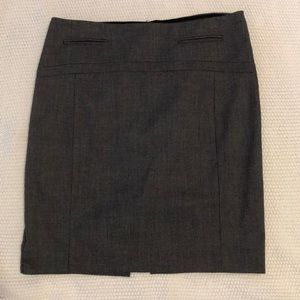 Grey pencil skirt, size4.